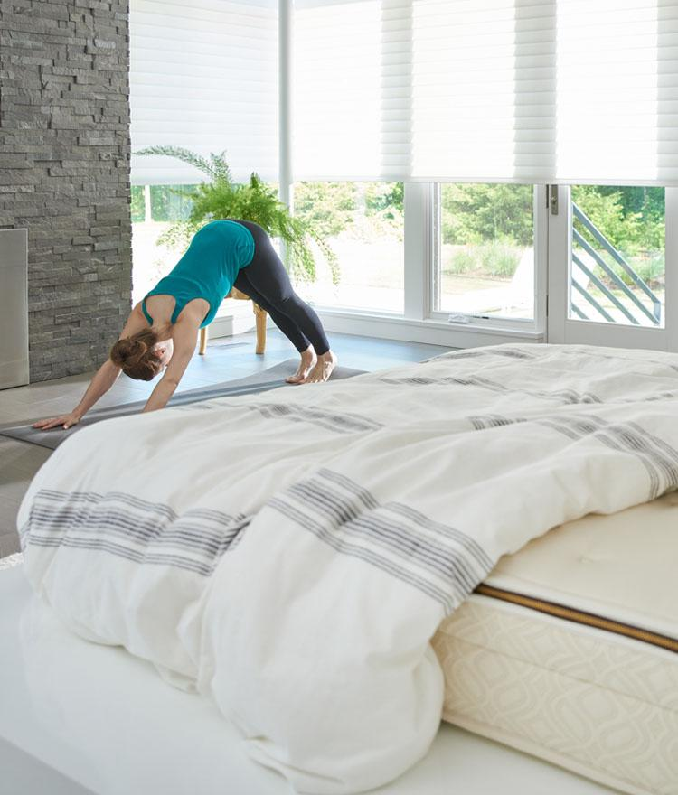 Try These Yoga Poses For Better Sleep