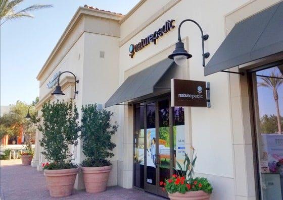 Organic Mattress Gallery Storefront in Irvine, CA