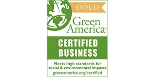 Green America Gold Certified Logo