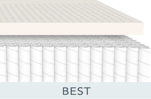 Boy reading on mattress