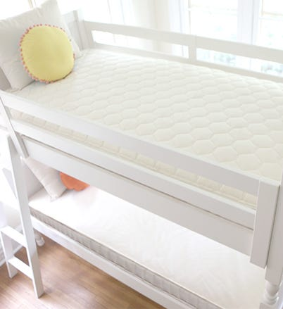 Bunk Bed with 2 in 1 Kids Mattress