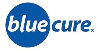 Blue Cure Logo