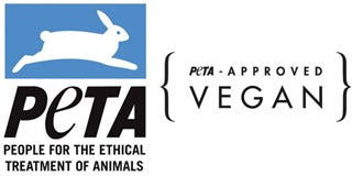 PETA Vegan Certification Logo