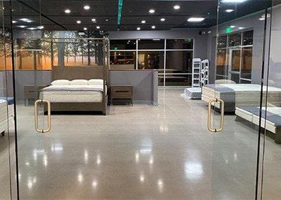 mattresses inside organic mattress gallery in Scottsdale Arizona